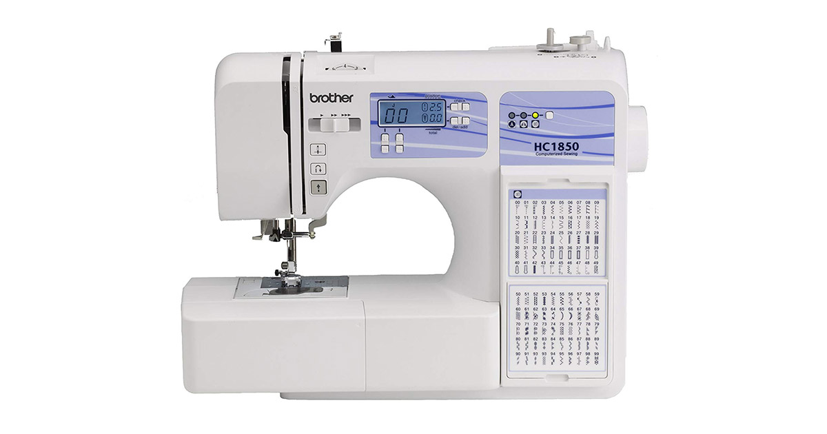 Brother HC1850 130 Built-in Stitches Computerized Sewing and Quilting Machine image