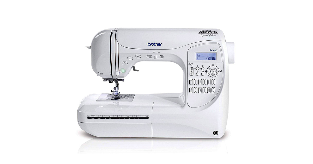 Brother Project Runway PC420PRW 294 Stitch Professional Grade Computerized Sewing Machine image