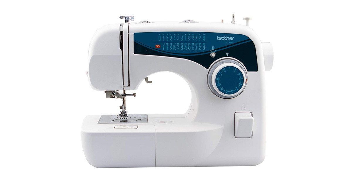 Brother XL2600I Sew Advance Sew Affordable 25 Stitch Free Arm Sewing Machine IMAGE