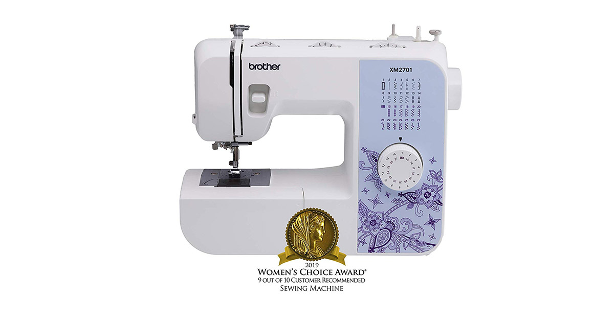 Brother XM2701 Lightweight 27 Stitches Sewing Machine image
