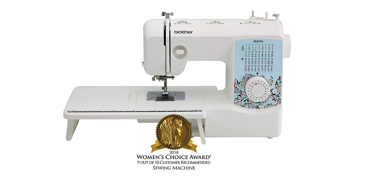 Brother XR3774 Full Featured 37 Stitches Quilting Machine image
