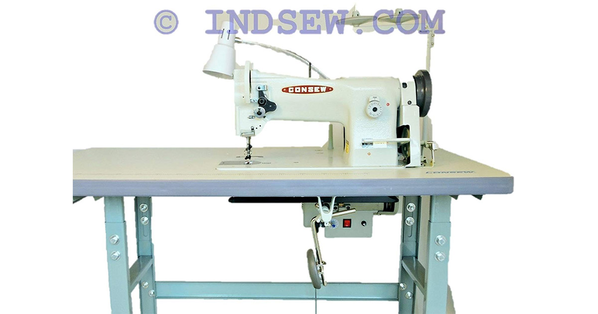 Consew 206RB-5 Walking Foot Industrial Sewing Machine image