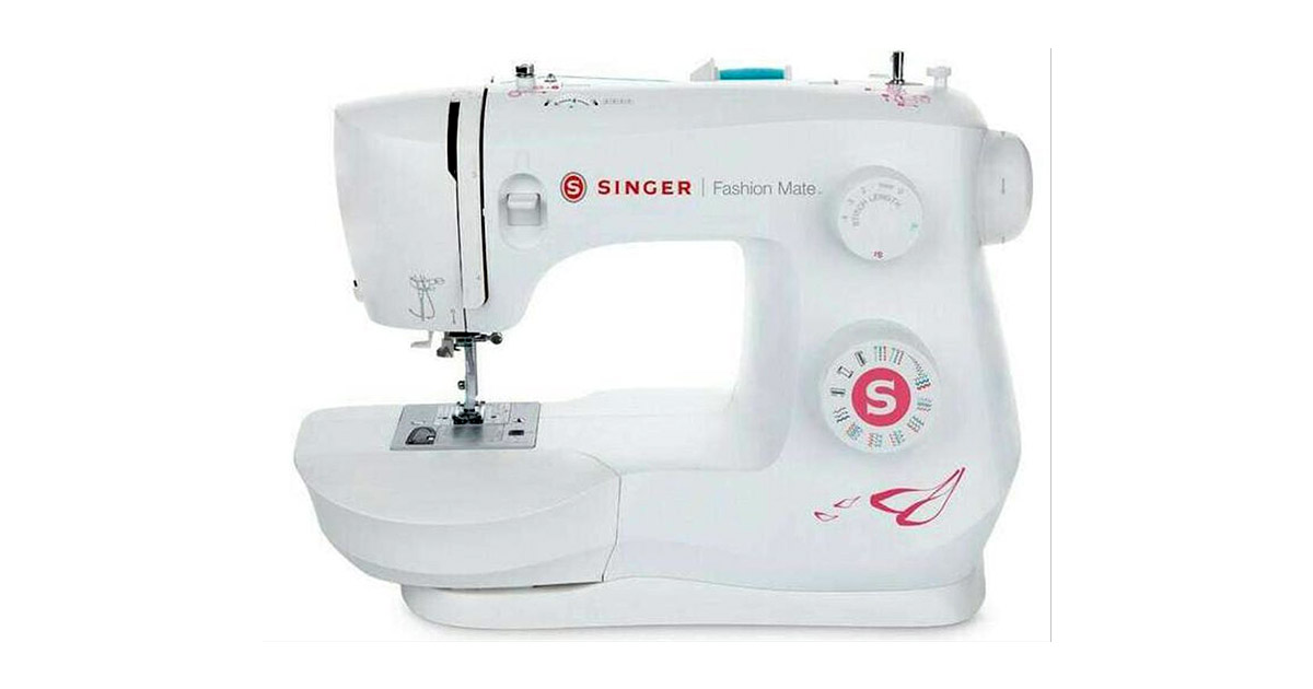 SINGER Fashion Mate 3333 Free Arm 23-Built-In Stitches Sewing Machine image