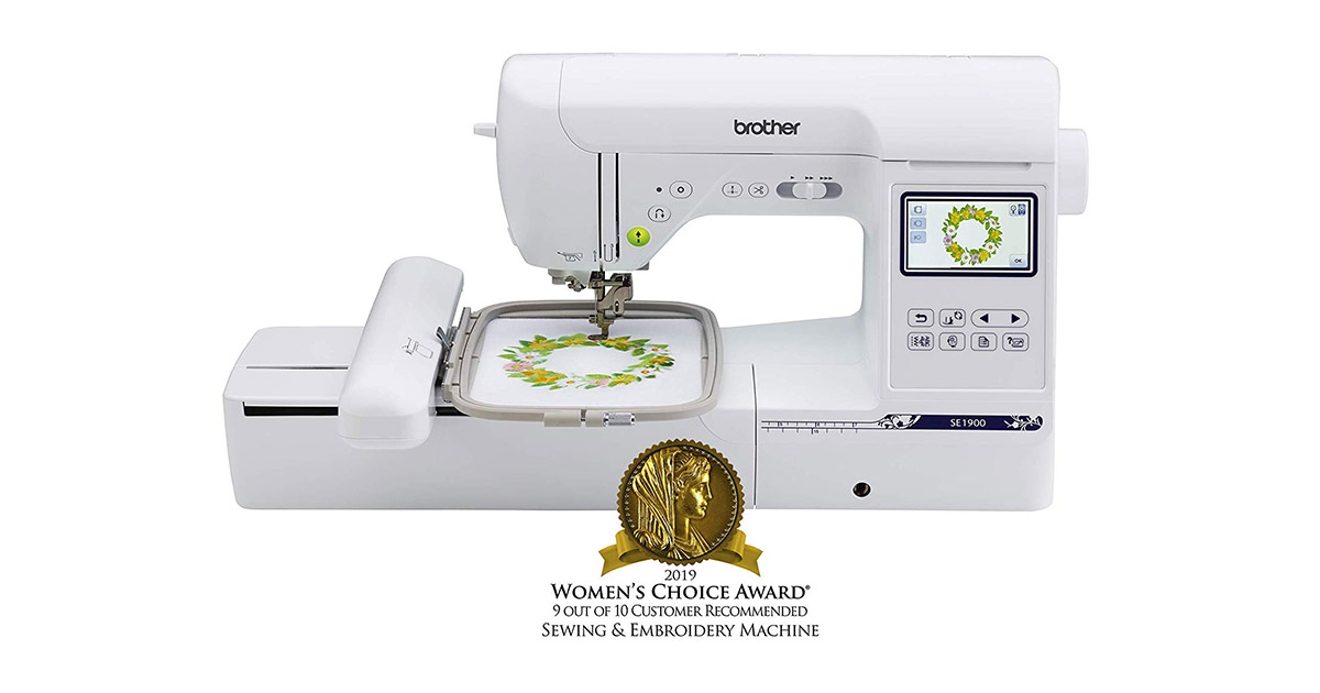 Brother SE1900 Computerized 138 Built-In Designs Sewing and Embroidery Machine image