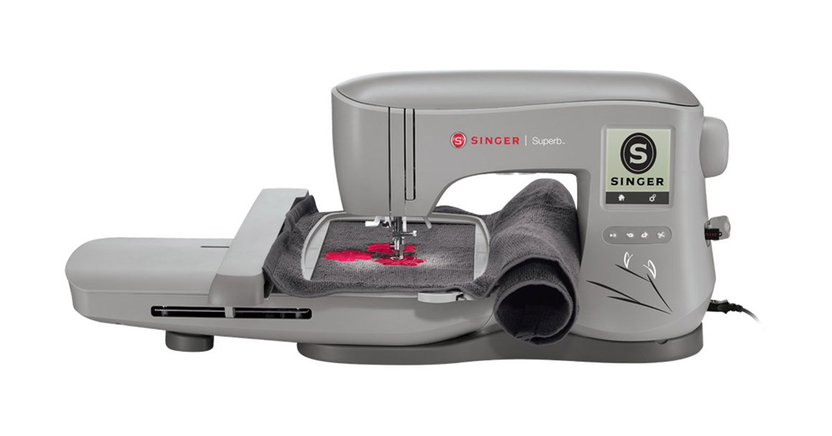 SINGER Superb EM200 Embroidery Sewing Machine image