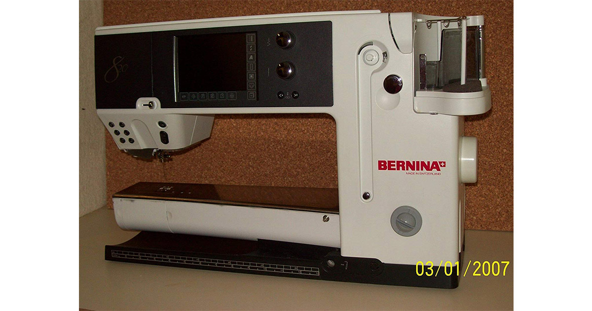 Bernina 820 Sewing and Embroidery Machine image