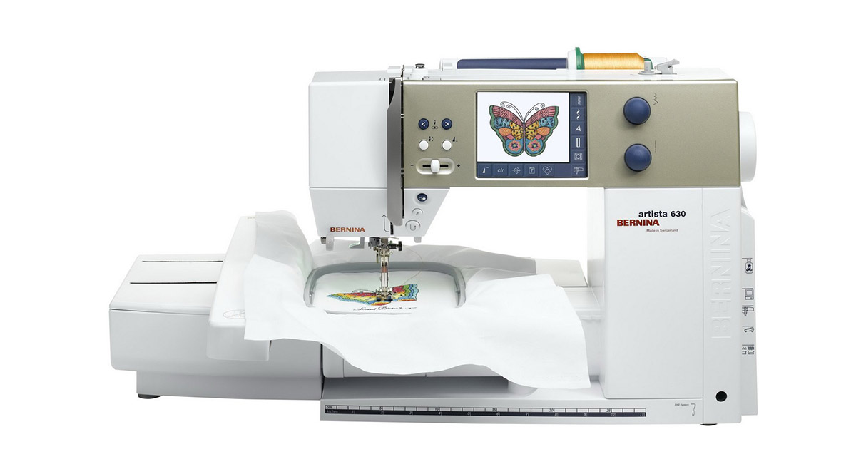 Bernina artista 630E Sewing Quilting and Embroidery Machine image