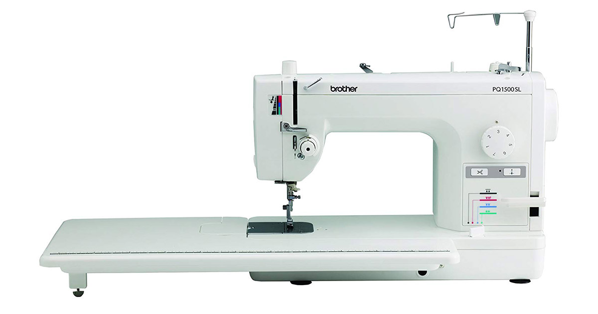 Brother PQ1500SL 1500 Stitches Quilting and Sewing Machine image