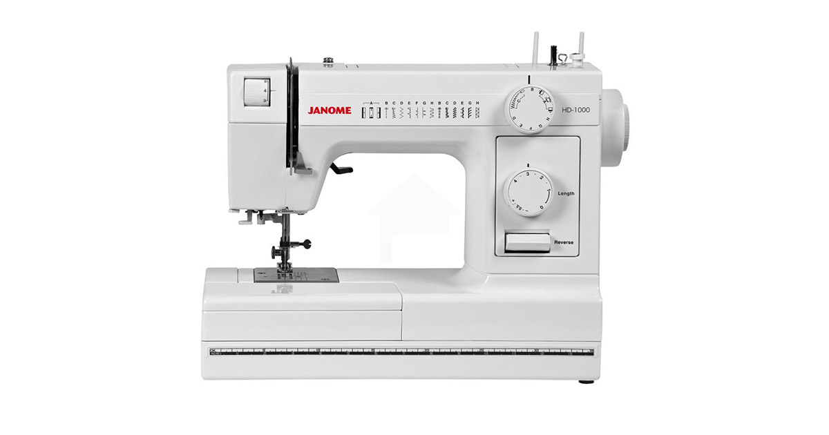 Janome HD1000 Heavy Duty 14 Built-In Stitches Sewing Machine image
