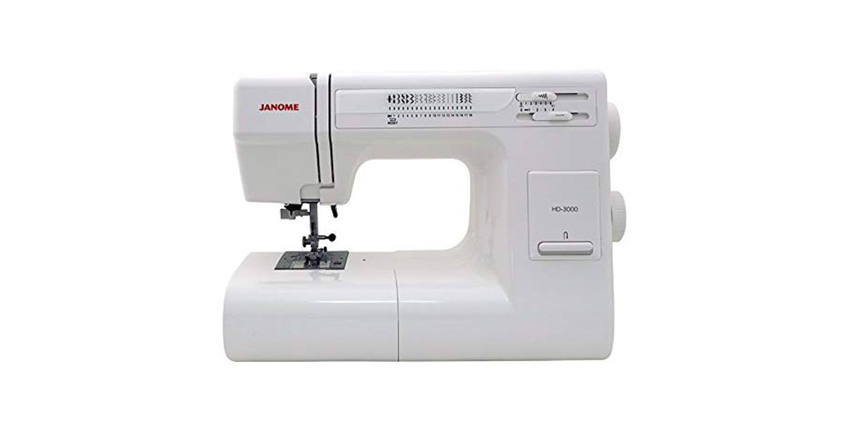 Janome HD3000 Heavy Duty 18 Built-In Stitches Sewing Machine image