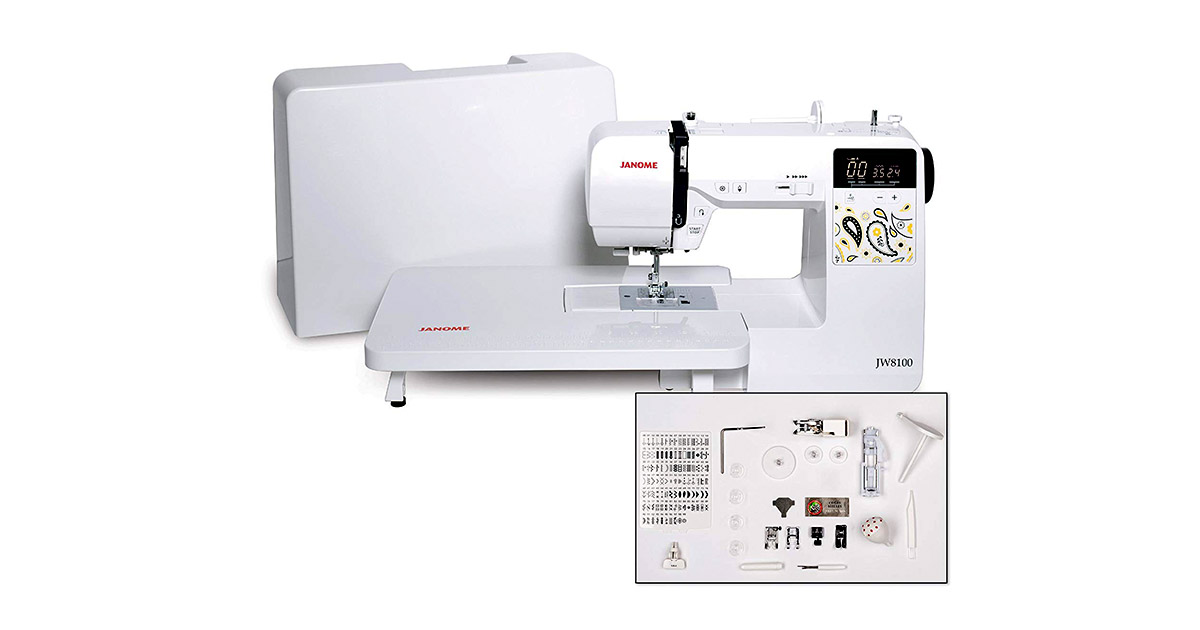 Janome JW8100 Fully Featured Computerized Sewing Machine image