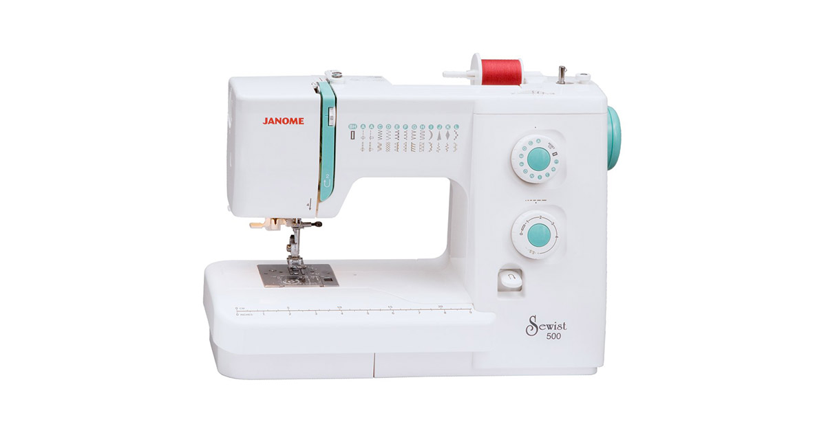 Janome Sewist 500-25 Built-In Stitches Sewing Machine image