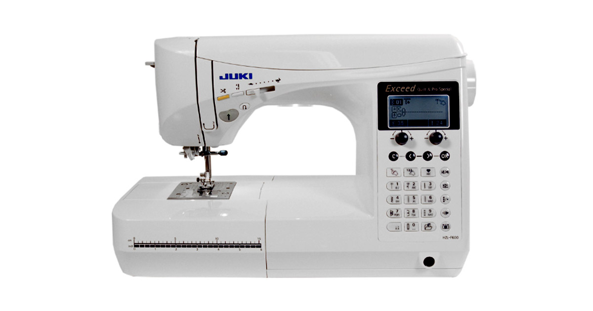 Juki HZL-F600 Computerized Sewing and Quilting Machine image