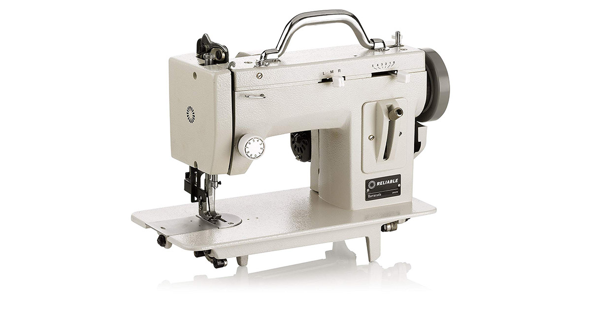 Reliable Barracuda 200ZW Zig-Zag 800 Stitches Sewing Machine image