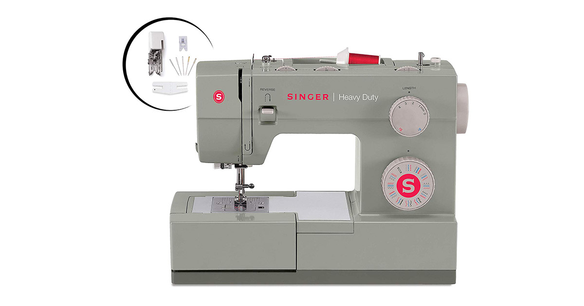 Singer Heavy Duty 4452-32 Built-In Stitches Sewing Machine image
