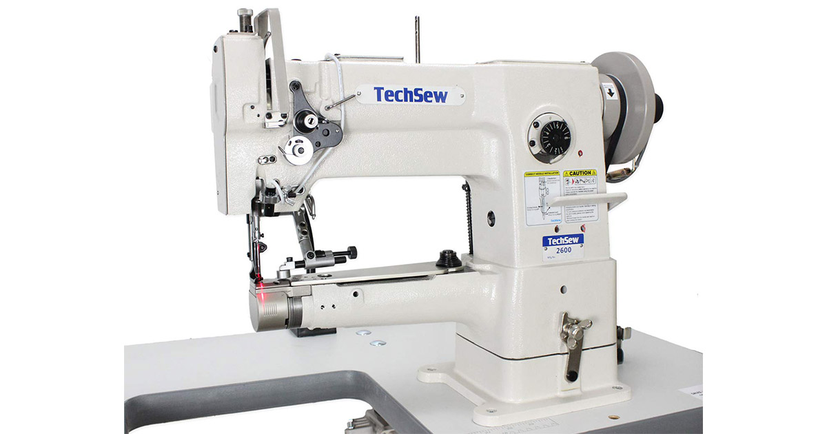 TechSew 2600 PRO Narrow Cylinder Leather Walking Foot Industrial Sewing Machine image